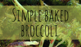 Simple Baked Broccoli recipe